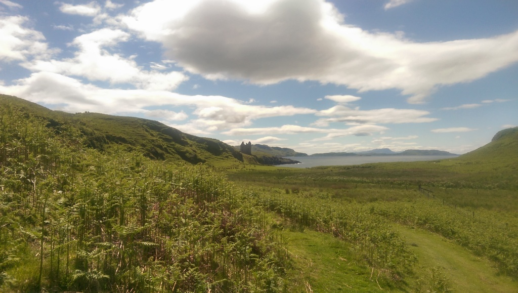 Sunshine in Kerrera.